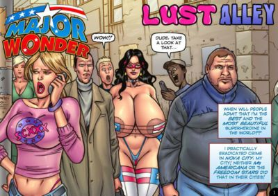 Eric Logan III Major Wonder: Lust Alley Updated Ongoing