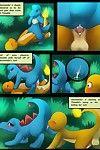 DarkMirage Charmander X Totodile (Pokemon)