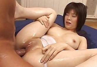 Glam babe in the office getting freaky with toys - 8 min