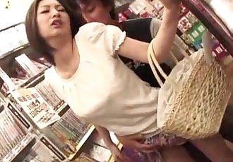 Public porn session along hot ass Ran Minami - 12 min