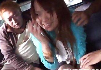 Bang bus experience for insolent Miyo Kasuga - 10 min