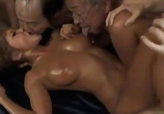 Hot Tanned Asian Girl Fucked By Guy While Kissing With Ugly Men Cum To Mouth Sti - 8 min