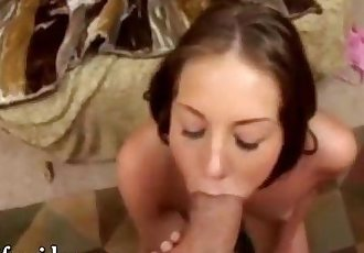 Brunette university doing oral to cum in her young face rich perverted sex expert shouts asking me a - 6 min