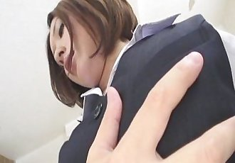 Emi Orihara sexy teacher gets creamed pussy - 8 min