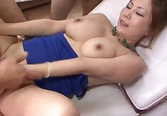 Yuki Aida amazes with her cock sucking skills - 12 min