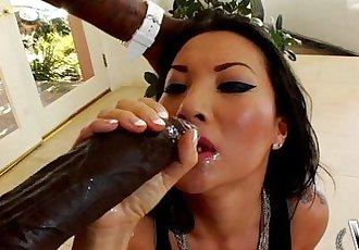 WCPClub Asa Akira taking a giant BBC in her ass - 14 min HD