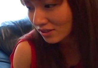 Asian hotte Kao Sugimori nailed hard! - 8 min