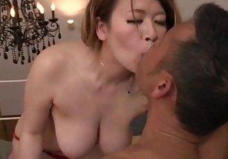 Suzuna Komiya removes undies to fuck a huge dick - 12 min