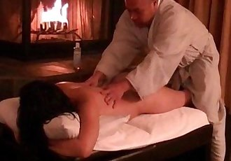 Asian gets her body massaged and creampied - 22 min