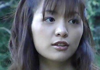 Hijiri Kayama gets doggy and cum on street - 10 min