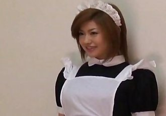 Ai Aito undressed of uniform licked and nailed - 10 min