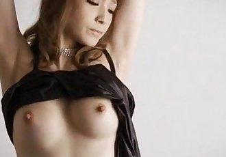 Amazing solo posing along lingerie beautyYuria - 12 min