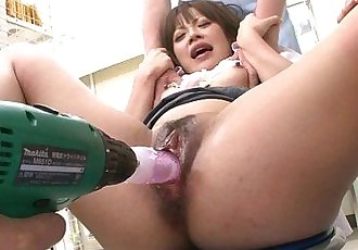 Rough medical examination of her wet pussy - 8 min HD