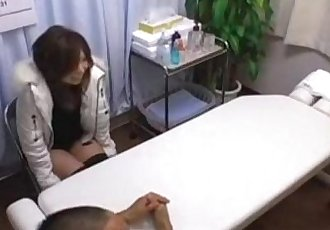 Massage 1 asian cute fake massage - 27 min