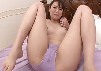 Japanese model Tomoka Sakurai filled with dick until she squirts her love juice - 5 min