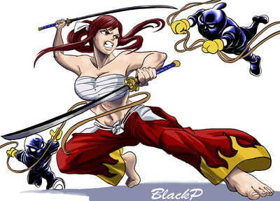 blackprof The kidnap of erza
