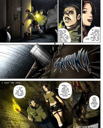 Melkor (Romulo Mancin) Sara Hoft (Tomb Raider)