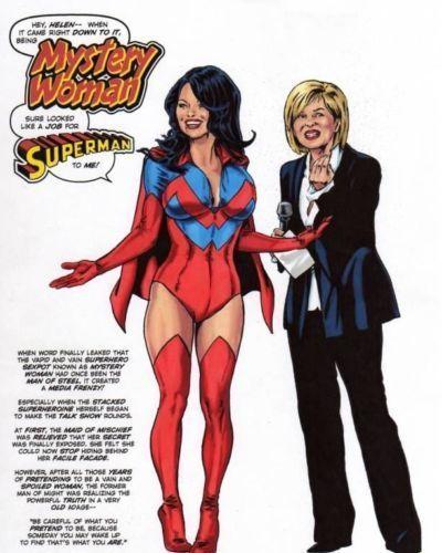 Tebra Artwork - DC Universe - part 12