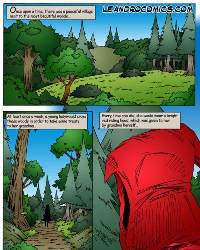 Leandro Comics Little Red Riding Hood