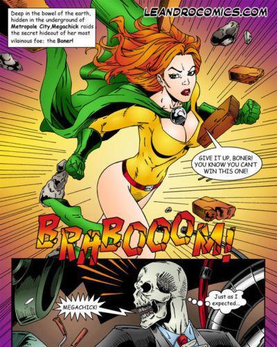 leandro truyện tranh megachick