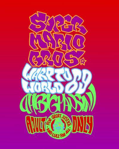 The Big Mansini Warp to World 69 (Super Mario Brothers)