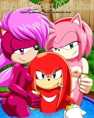 Palcomix Hot Tub Sex Machine (Sonic the Hedgehog)