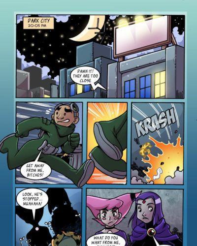 Jinx X Raven (Teen Titans)