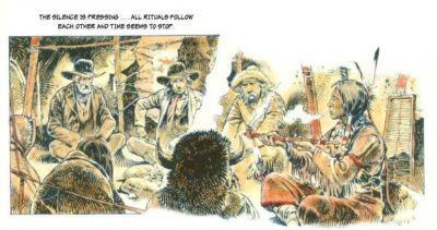 Sarah or The White Indian by Paulo Eleuteri Serpieri - part 4
