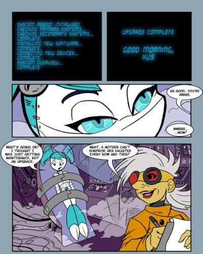 comic my life as a teenage robot