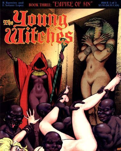 Solano Lopez & Barreiro The Young Witches - Book #3 : Empire of Sin