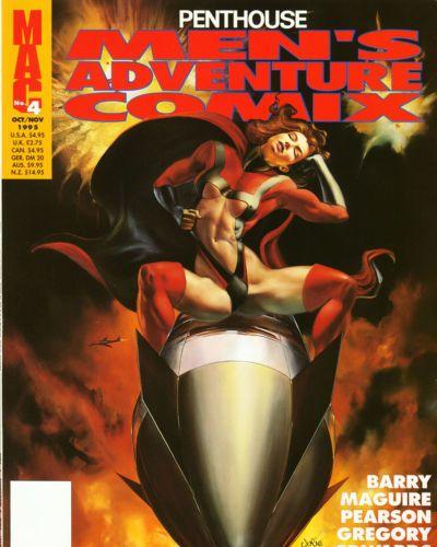 Penthouse Mens Adventure Comix #4
