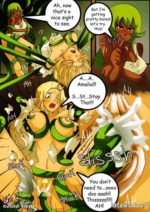 Порно wakfu комиксы