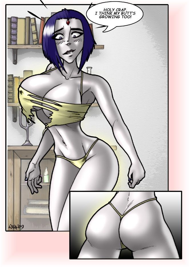 cerberuslives Starfire/Raven Strip 1+2 (Teen Titans)