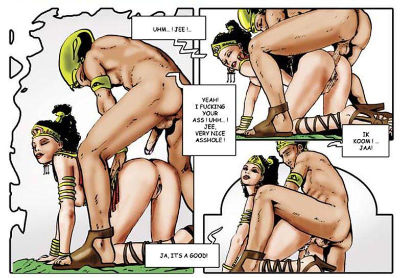Tejlor Harem Of Pharaoh