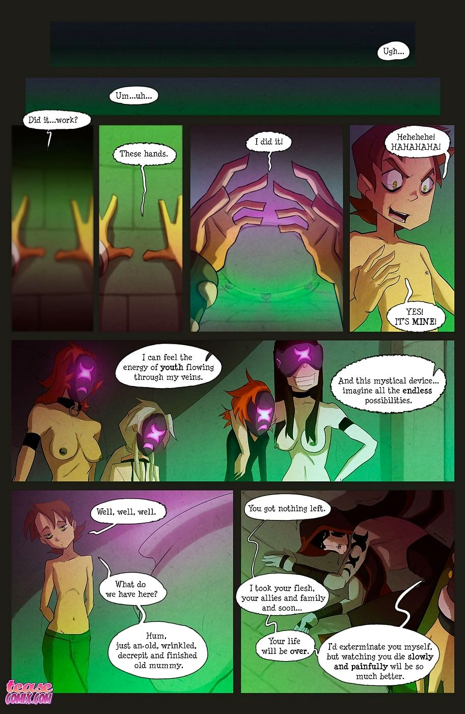 The Witch With no Name - part 4