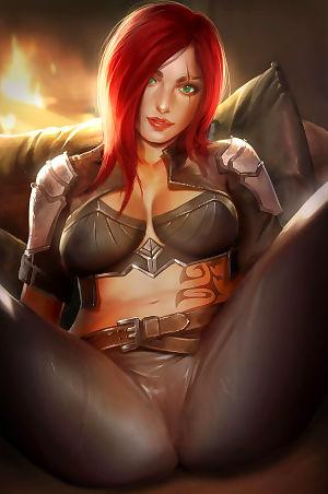 Reward 04 - Mercy- Katarina- Dark Elementalist Lux - part 11