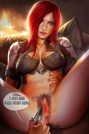 Reward 04 - Mercy- Katarina- Dark Elementalist Lux - part 8