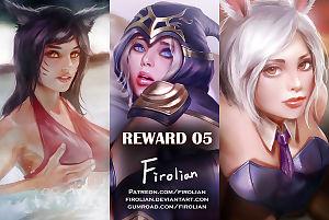 Reward 05 - Ahri- Ashe- Riven