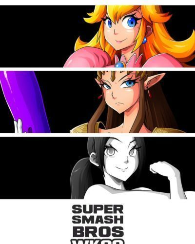 Super Smash Bros- Witchking00