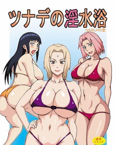 Tsunades Obscene Beach (Naruto)