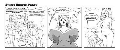 Sweet Buxom Penny - part 2
