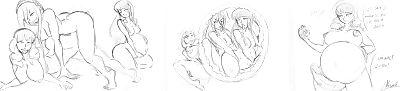 Natsumemetalsonic Sketches 2 - part 20