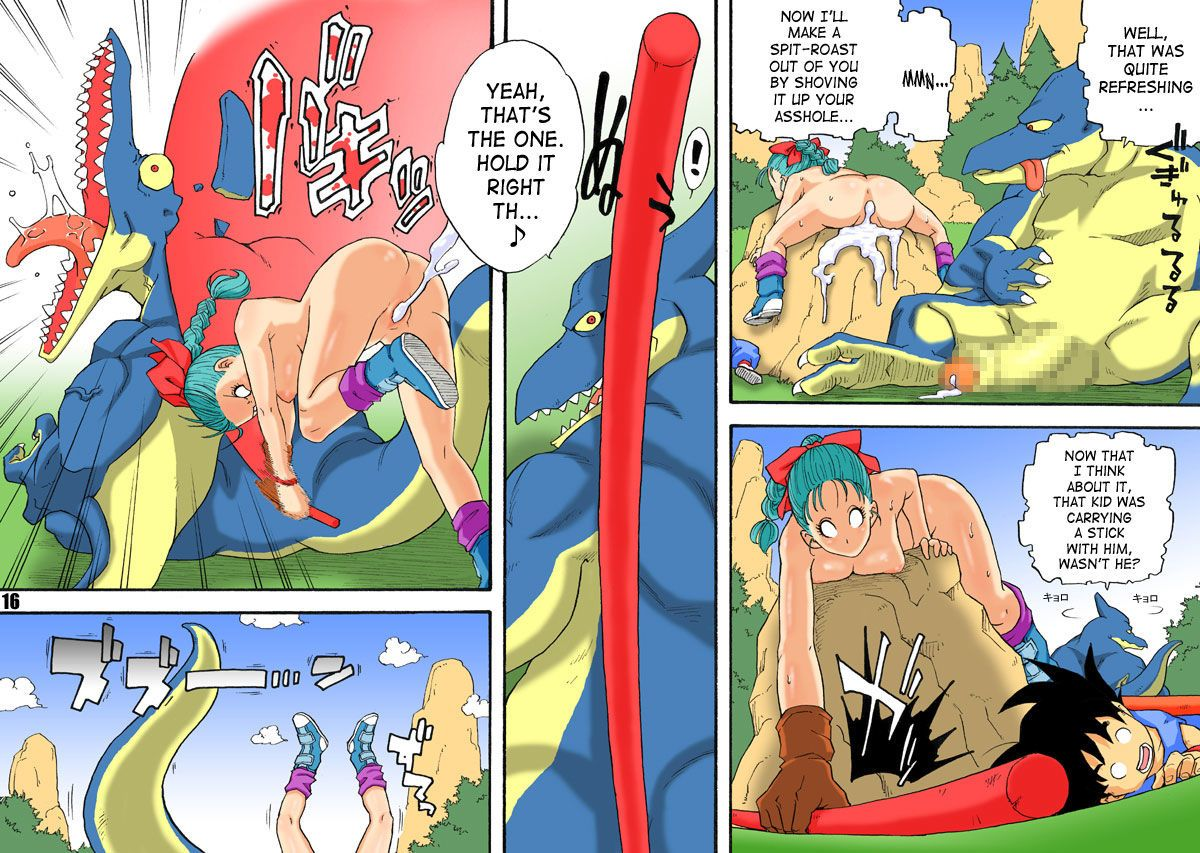 ficken dragonball sex comics