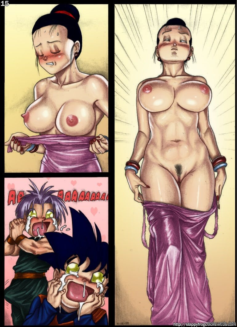 Comics porn kamehasutra ball Dragon z