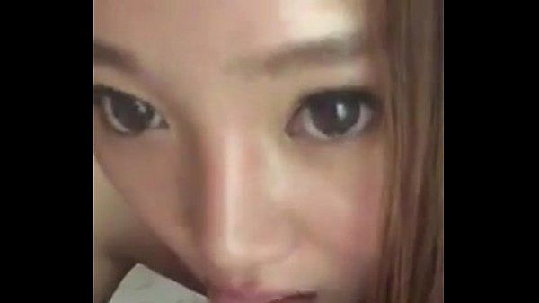 Pretty chinese girl sucks dick like hot asian