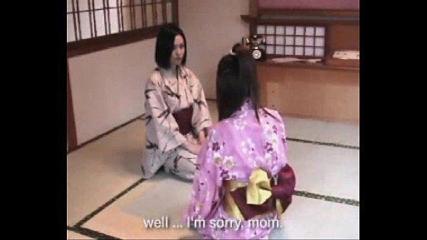 #002 Yukata Girl Spanked