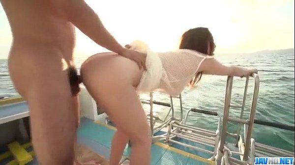 Slutty Hikari starts making out in superb porn show