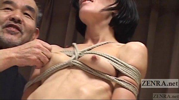CMNF Subtitled Japanese nose BDSM with Elise Graves