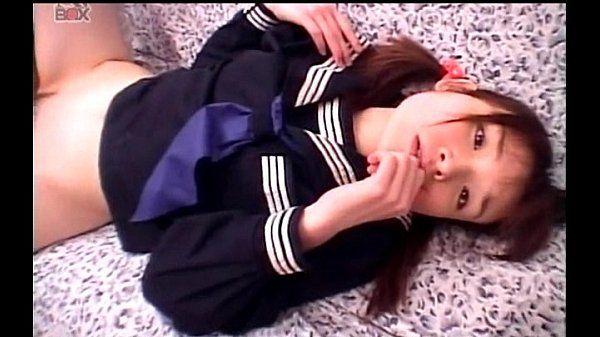 Little jap sweetheart taking hard pounding in school uniform