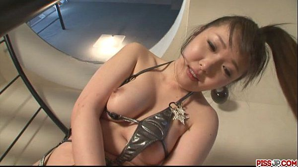 Cute Haruka Oosawa pounded by sex toys